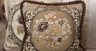 CURCYA Luxury Cushion Covers for Sofa Elegant Thick Jacquard