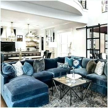 Luxury Blue Living Room Ideas – savillefurniture