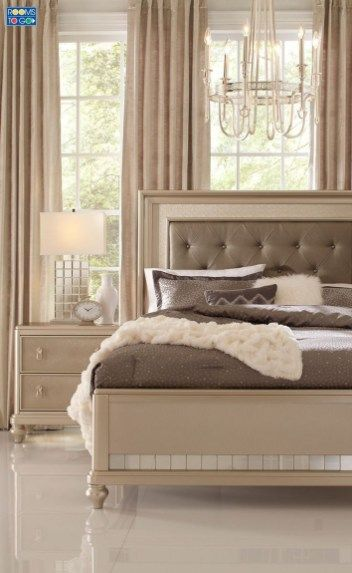 46 Luxury Champagne Bedroom Ideas | Bachelorette Pad | Champagne