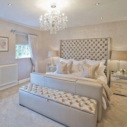15 glamour silver bedroom designs   bedroom   Silver bedroom