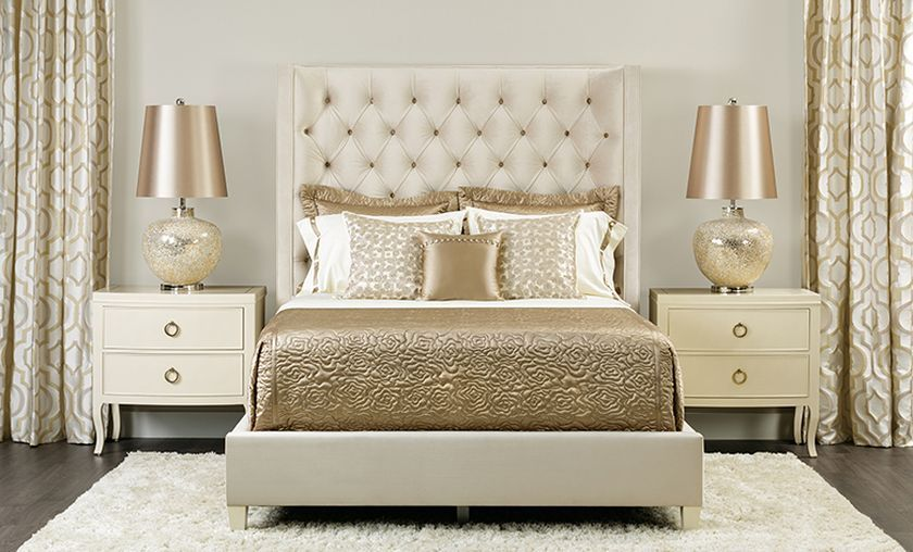 Amazing Luxury Champagne Bedroom Ideas That Must You See - DecOMG
