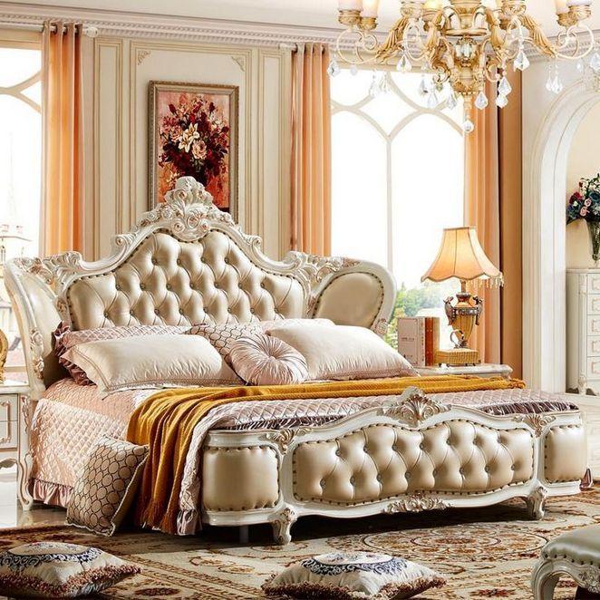 34 Luxury Champagne Bedroom Ideas Explained - enakhome.com
