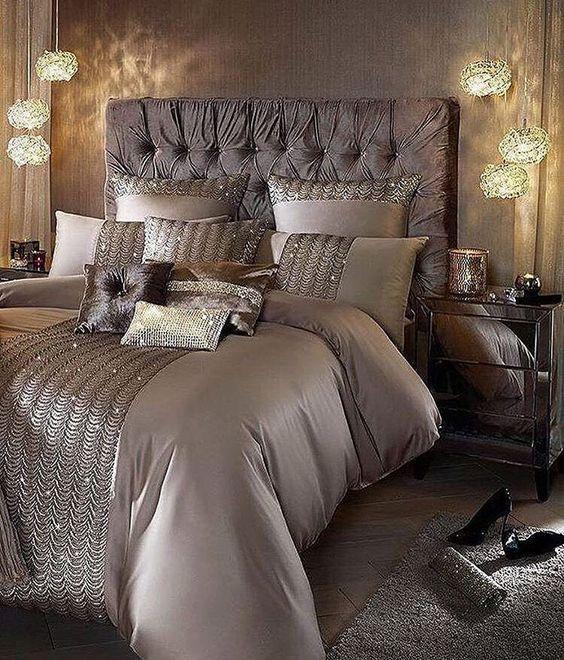 Luxury Champagne Bedroom Ideas