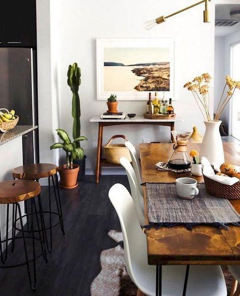 118+ Marvelous Modern Farmhouse Dining Room Design Ideas
