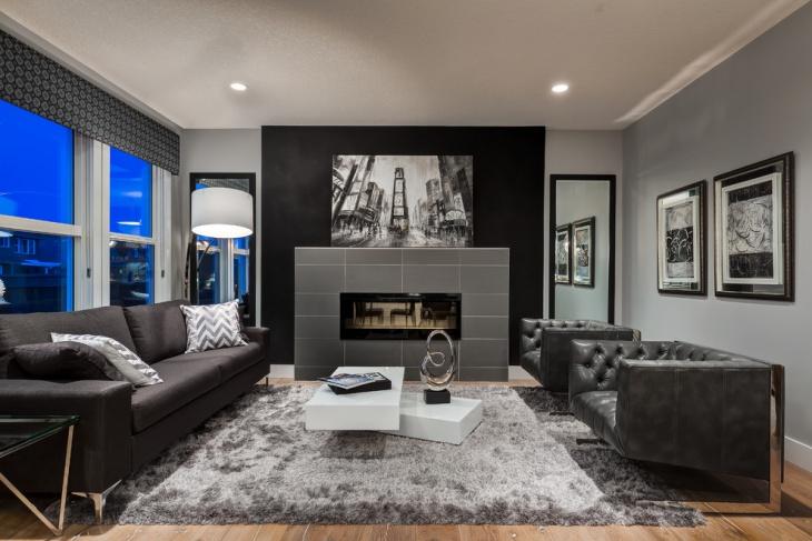 18+ Masculine Living Room Designs | Design Trends - Premium PSD
