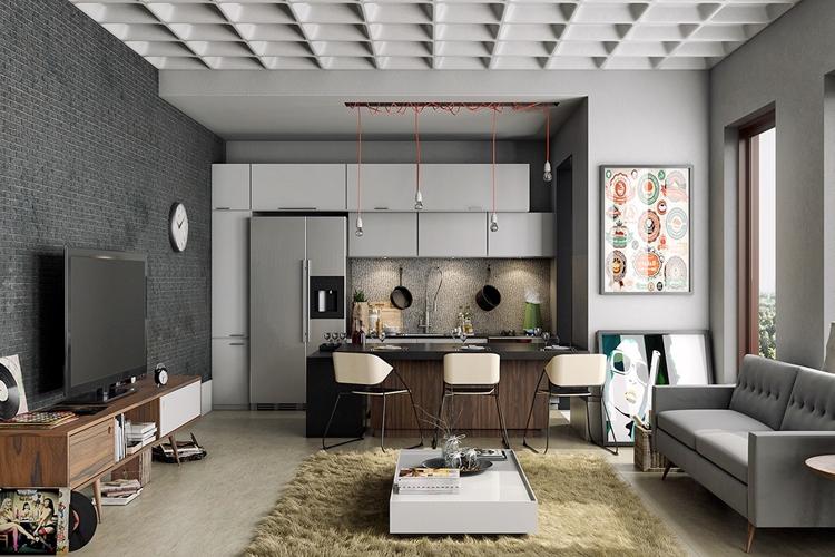 Masculine Living Room Design Ideas 6 – savillefurniture