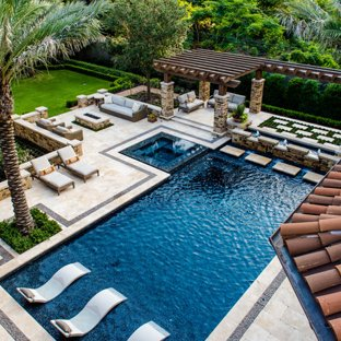75 Most Popular Mediterranean Swimming Pool Design Ideas for 2019