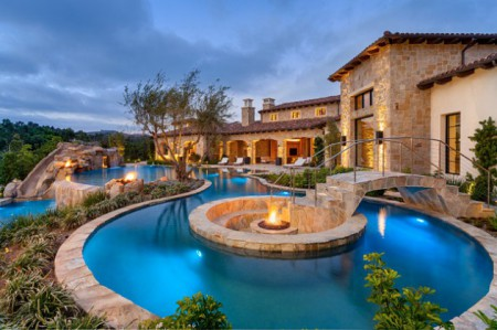 Stunning Mediterranean Swimming Pool Designs To Beautify Your Yard