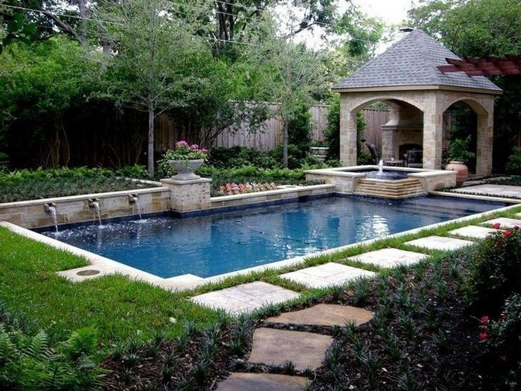 20+ Comfy Mediterranean Swimming Pool Designs Ideas - TRENDEDECOR