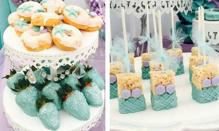 Mermaid theme party food: on-trend ideas for your next kids party
