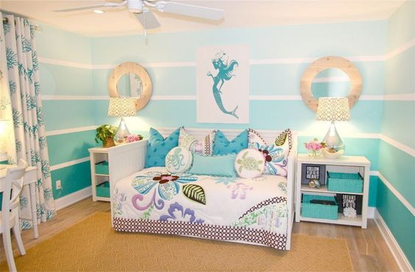 Mermaid Themes Ideas For Children Or Kids Room 36 - DecOMG