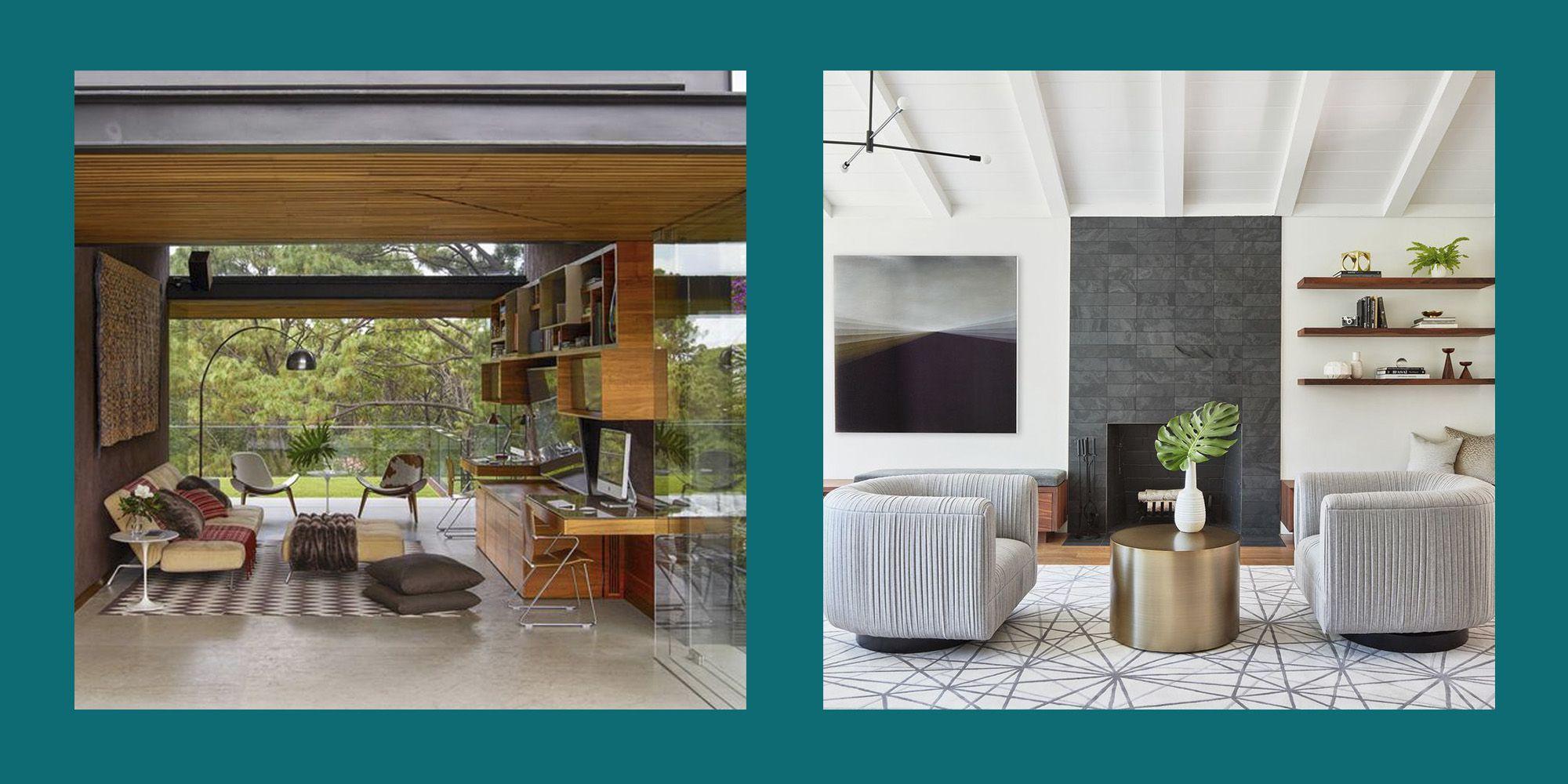 30 Mid Century Modern Living Rooms - Best Mid Century Decor