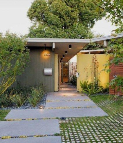 Mid Century Modern Yard Decor