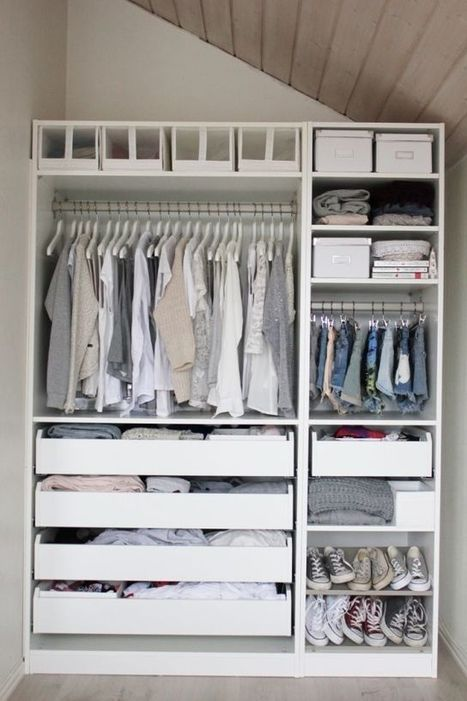 Minimalist Closet Design Ideas For Your Small Room | SIMPLY MINIMAL