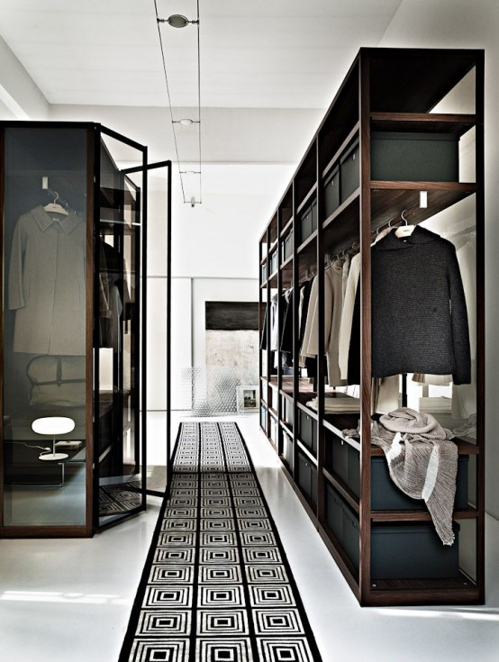 34 Stylish Minimalist Closet Design Ideas - DigsDigs