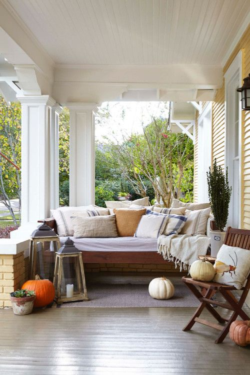 Southern Porch inspiration | Designing Women | Porch, Home, Cottage