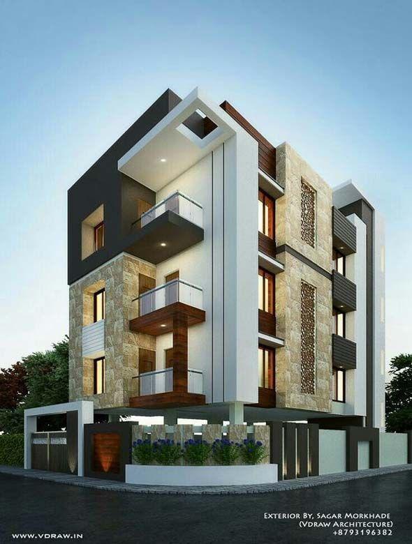 Best Modern Apartment Architecture Design   Home Decoration Pictures