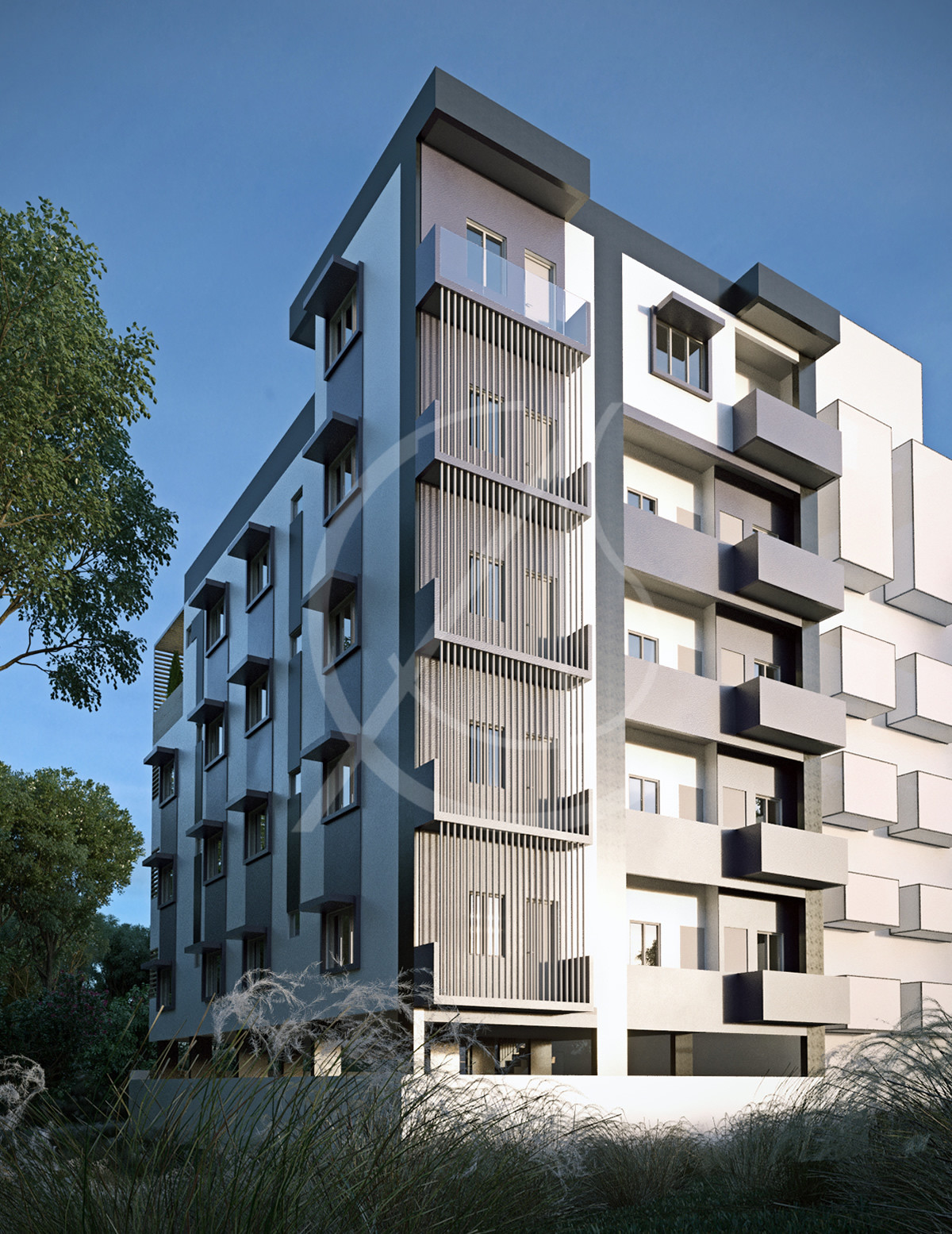 Modern Apartment Exterior Design   Comelite Architecture Structure