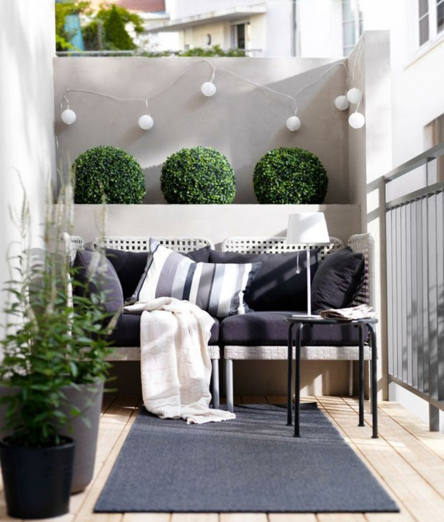 Modern Apartment Balcony Decorating Ideas On A Budget 10