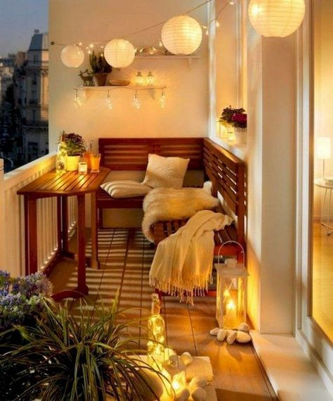 50 Modern Apartment Balcony Decorating Ideas on a Budget | Apartment