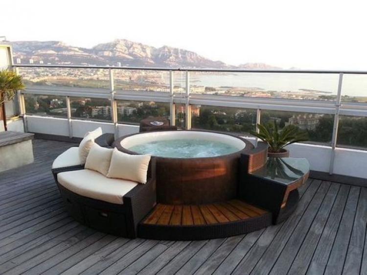 25+ Comfy Modern Bathtub Dream Design Ideas | Bathroom Ideas | Hot