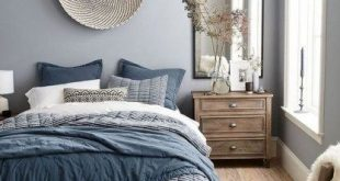 43 Modern Blue Master Bedroom Ideas | Bedroom | Bedroom, Bedroom