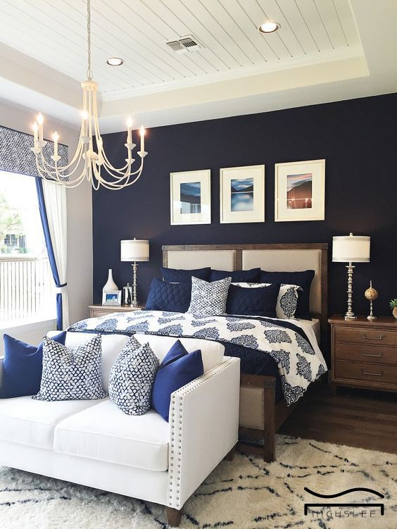 Modern Blue Master Bedroom Ideas 4 – savillefurniture