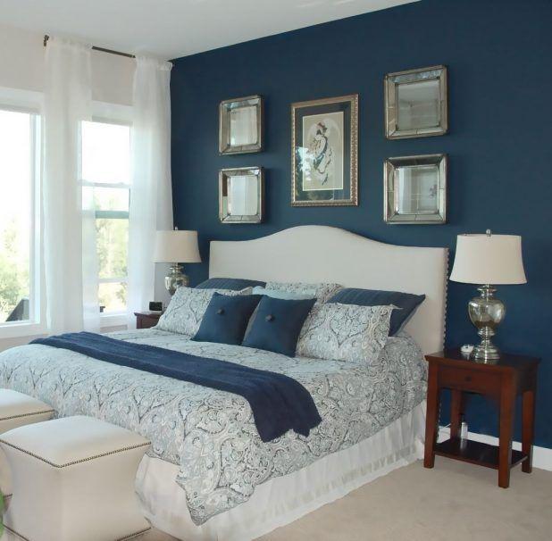 Bedroom, Blue Master Bedroom Ideas Cool Engineered Hardwood Ranch