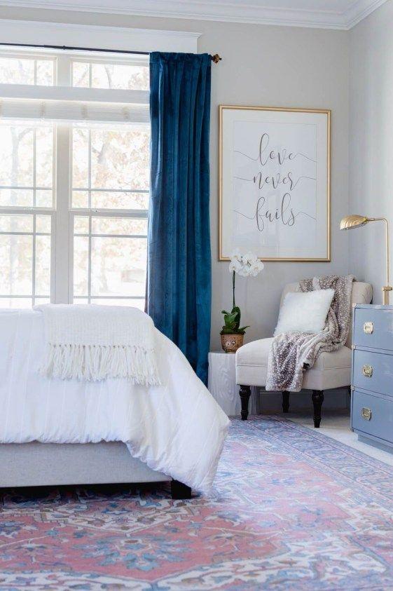 43 Modern Blue Master Bedroom Ideas | For the Home | Pinterest