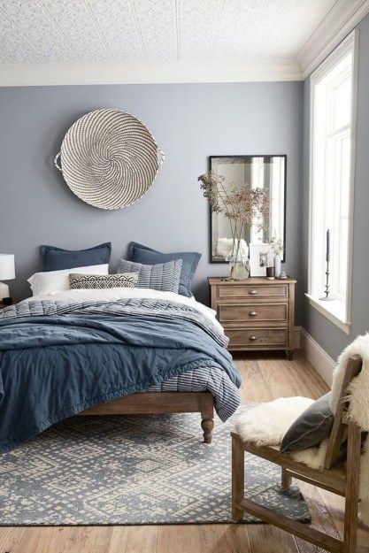 Modern Blue Master Bedroom Ideas – savillefurniture