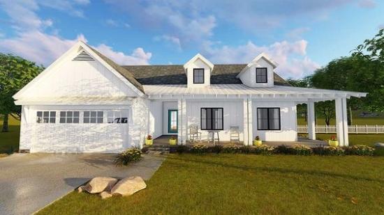 Top 10 Modern Farmhouse House Plans u2014 La Petite Farmhouse