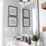Modern Farmhouse Bathroom Makeover Decor Ideas