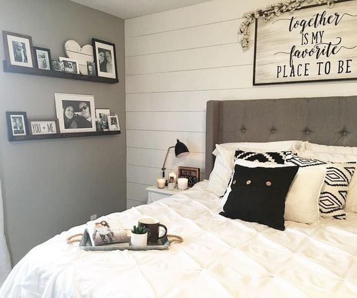 16 Modern Farmhouse Bedroom Décor Ideas - ideacoration.co