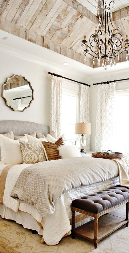 Farmhouse Decorating Ideas | My dream home. | Home bedroom, Bedroom