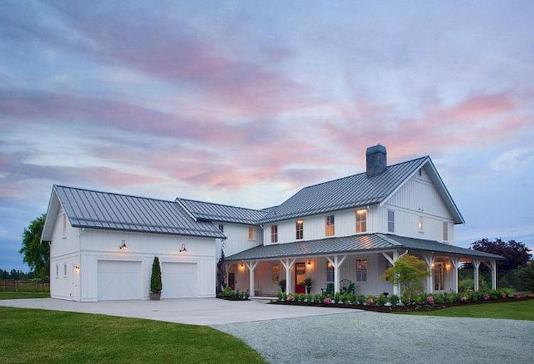 Modern Farmhouse Exterior Design Ideas 42 - ProHouse.Info