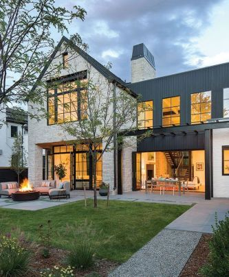 Modern Farmhouse Exterior Design Ideas