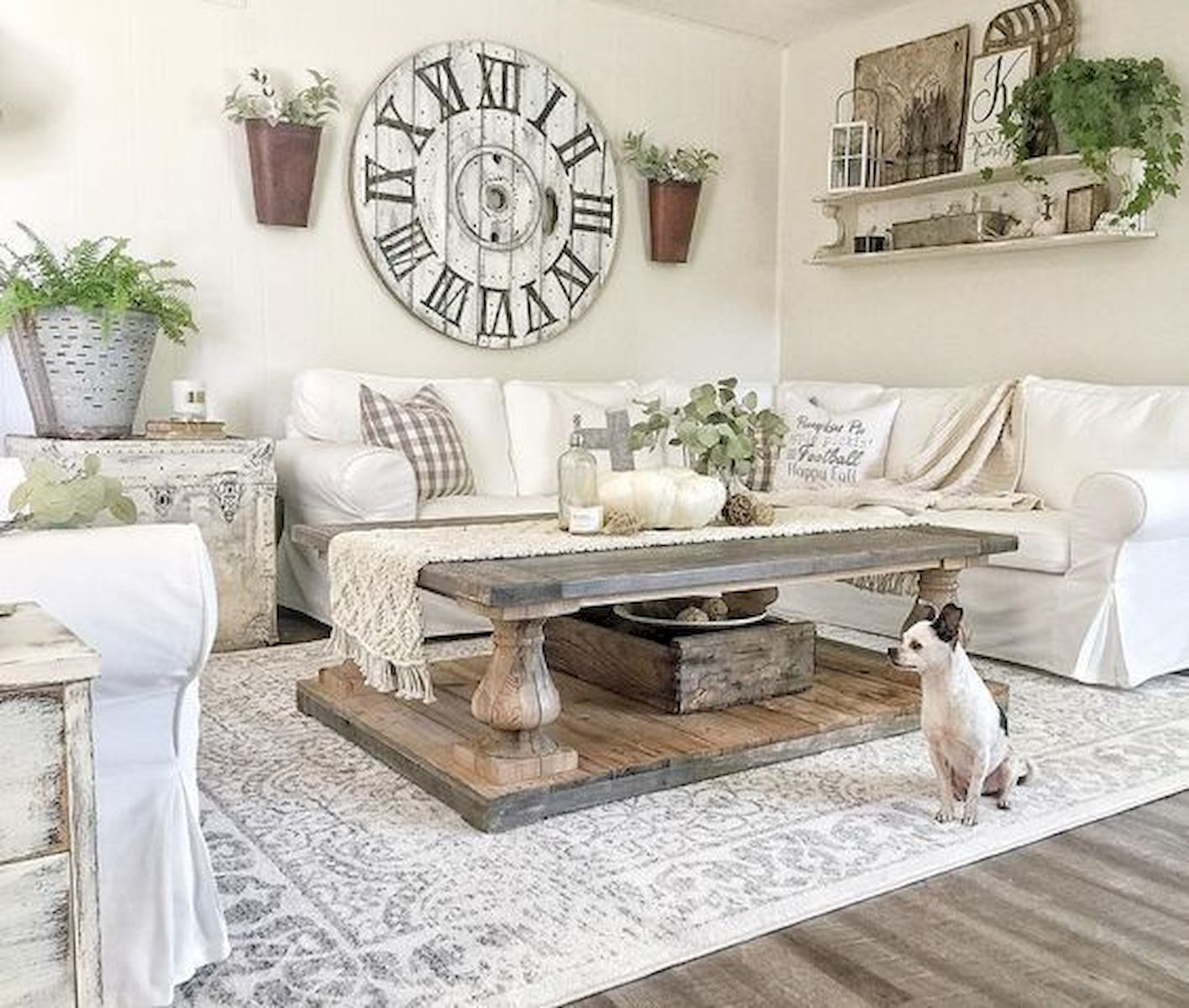 Modern Farmhouse Living Room Decor Ideas – savillefurniture