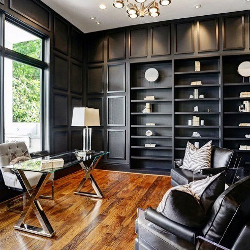 Top 70 Best Modern Home Office Design Ideas - Contemporary Working