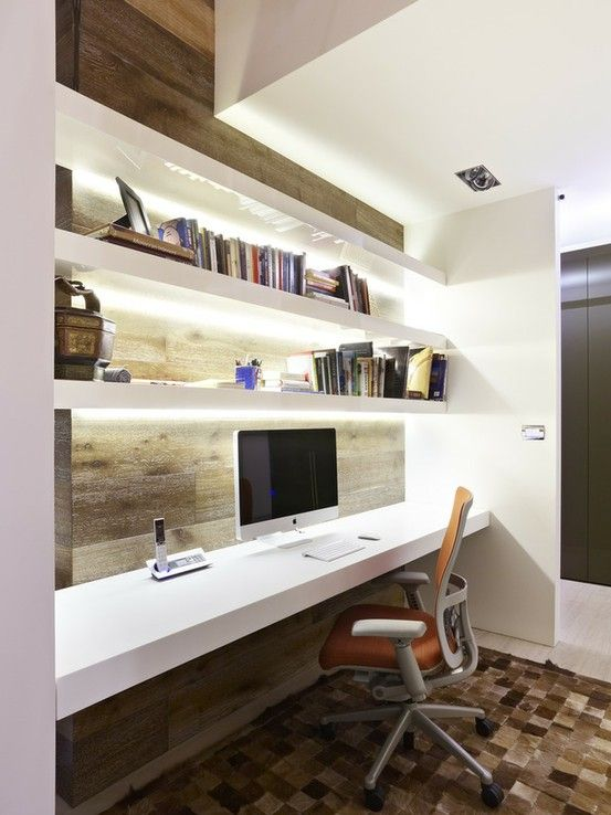 19 Great Home Offices For Small Spaces and Mobile Homes - Mobile and