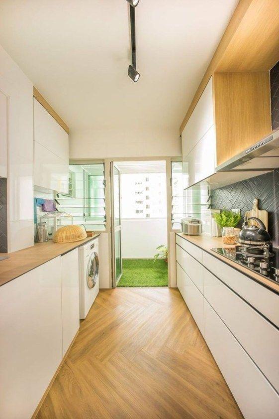 Modern Kitchen Balcony Ideas 38 | Decor in 2019 | Pinterest