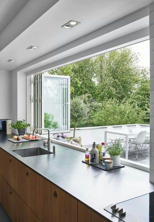 Modern Kitchen Balcony Ideas
