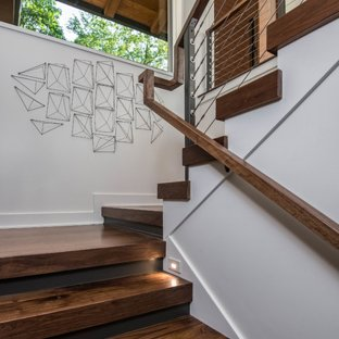 75 Most Popular Modern Staircase Design Ideas for 2019 - Stylish