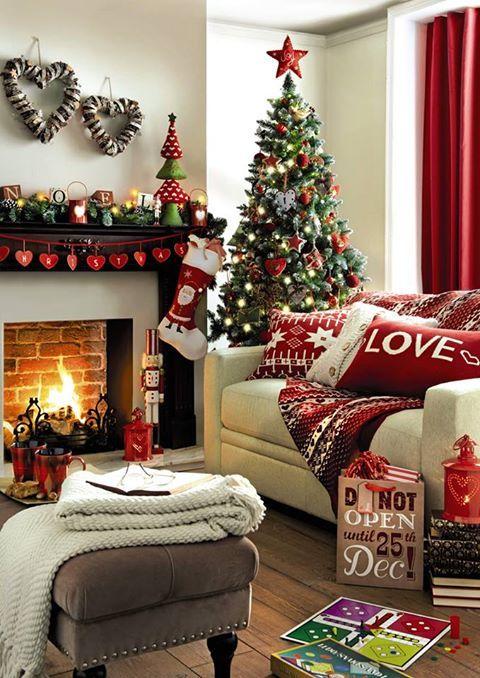 Christmas Living Room Decorations   Tis the season!   Christmas