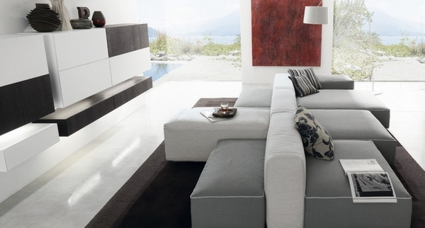 40 Gray sofa ideas u2013 a hot trend for the living room furniture