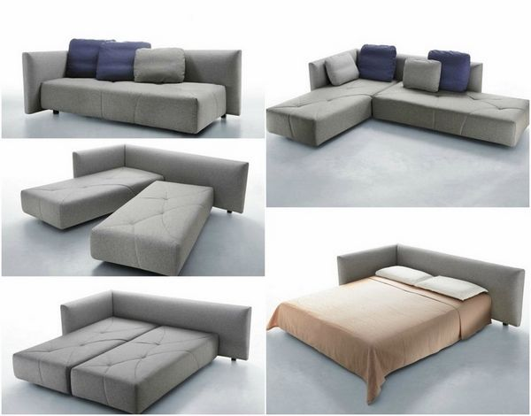 latest sofa bed ideas trendy gray modular sofa bed double bed design