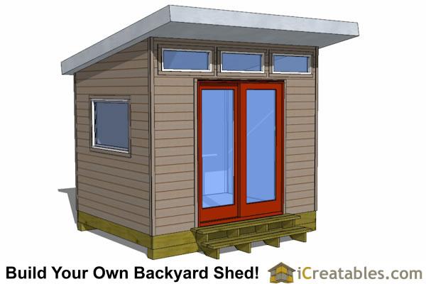 Modern Studio Shed Designs For Backyard