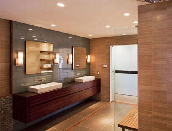18 Exquisite Contemporary Wooden Bathroom Design Ideas | Bathroom