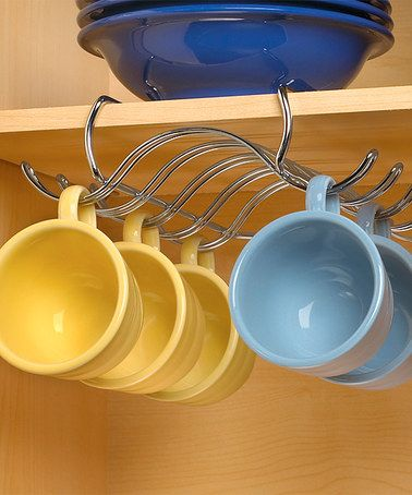 Look at this #zulilyfind! Under-the-Shelf Mug Holder #zulilyfinds