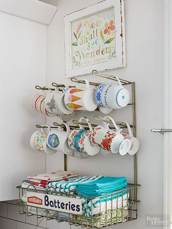 Flea-Market Storage Ideas | BHG's Best DIY Ideas | Pinterest