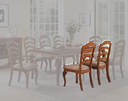 Amazon.com - Poundex PDEX-F1397 Dining Chair Multicolor - Chairs